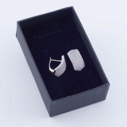 3108 – Rhodium fülbevaló