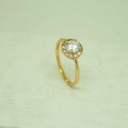30840 – 18K Gold gyürű